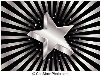 étoile, lamelle