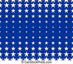 étoile, lumière étoiles, simple, pattern., seamless, arrière-plan., forme, vecteur, géométrique