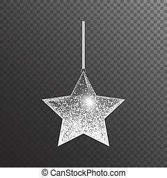 étoile, noël, briller