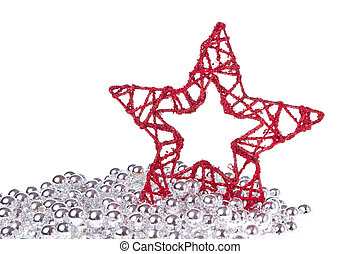 étoile, noël, clinquant