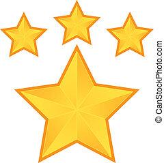 étoile, pentacle