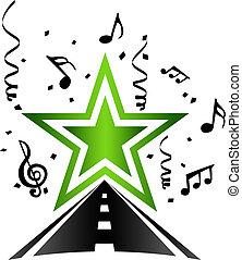 étoile, pop