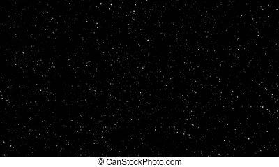 étoile, render, nébuleuse, champ, fond, boucle, 3d