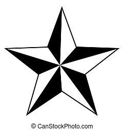 étoile, retro
