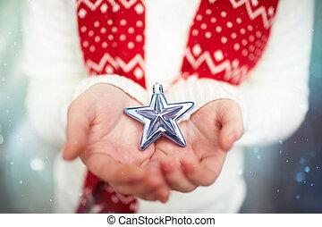étoile, tenue