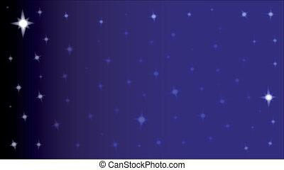 étoile, toile de fond