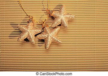 étoile, trois
