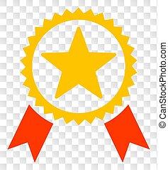 étoile, vecteur, échecs, fond, cachet, transparent, icône