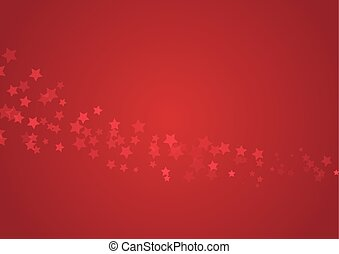 étoiles, arrière-plan rouge
