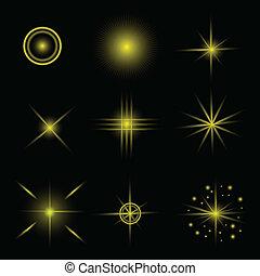 étoiles, ensemble