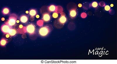 étoiles, lumière ciel, scintillement