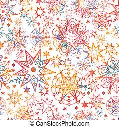 étoiles, modèle, seamless, fond, textured, noël