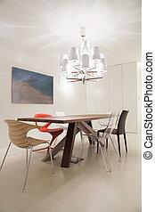 étonnant, contemporain, salle manger