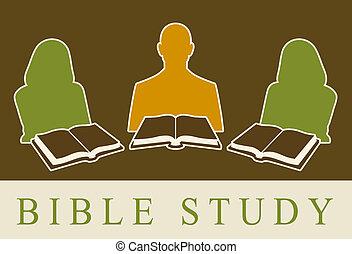 étude, bible