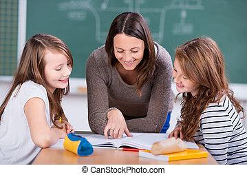 étudiants, apprentissage