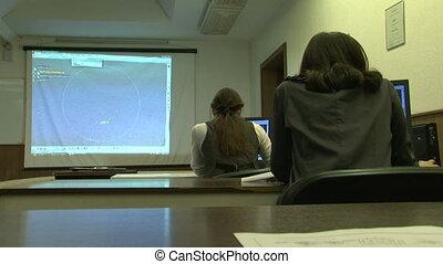 étudiants, informatique