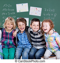 étudiants, peu, heureux