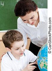 étudier, eduquer enseignant, géographie