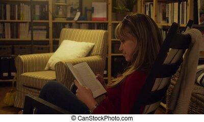 étudier, girl, littérature, chaise