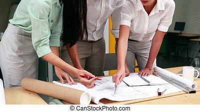 étudier, modèles, architectes