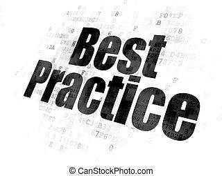étudier, pratique, arrière-plan numérique, concept:, mieux