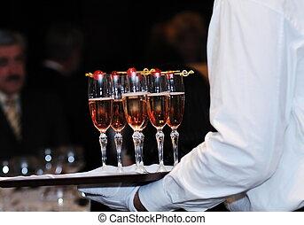 événement, fête, coctail, banquet, restauration