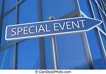 événement, spécial
