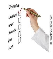 évaluation