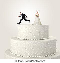 évasion, mariage