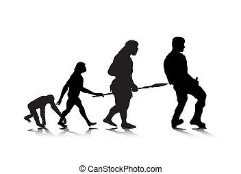 évolution, 4, humain