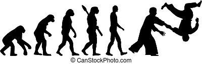 évolution,  aikido