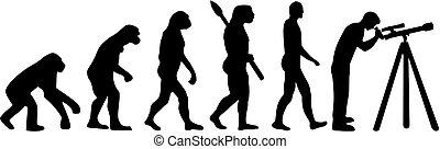 évolution, astromomie