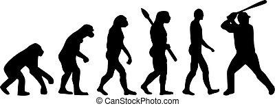 évolution, base-ball