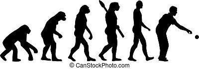 évolution, boccia