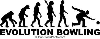 évolution, bowling