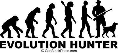 évolution, chasseur