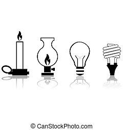 évolution, lumières