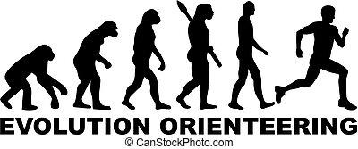 évolution, orienteering