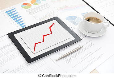 éxito, informe negocio