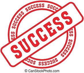 éxito, palabra, stamp3