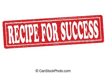 éxito, receta