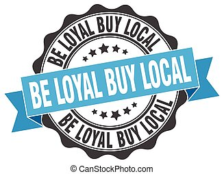 être, achat, signe., stamp., loyal, cachet, local