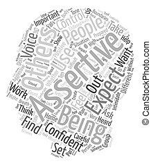 être, concept, aide, dix, autoritaire, wordcloud, fond, ...