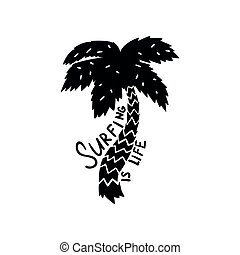 être, conception, logo, gabarit, magasin, aviateur, citation, dessiné, ressac, écusson, vie, utilisé, affiche, motivation, club, illustration, main, étiquette, impression, surfer, emblème, élément, vecteur, boîte, vêtements