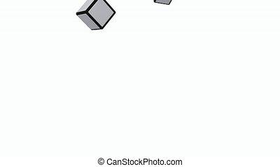 être, cube, assemblé