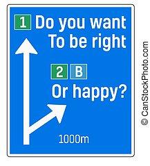 être, droit, signe, vouloir, vous, ou, heureux