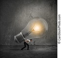 être, grand, realized, idée, avoir