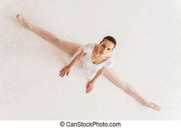 être, prend, best., discipline, jeune, ballerine, il, vue, ...