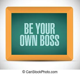 être, propre, illustration, patron, conception, message, ton