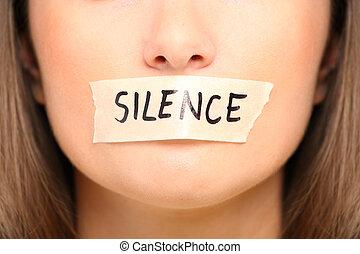 être, silencieux